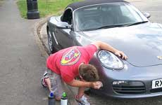 car boy repair on Porsche in Eastbourne