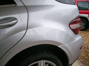 Paint Repair on Mercedes