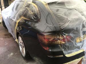 Re-sprayed BMW in Shoreham